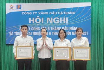 6T2021, Petrolimex Hà Giang nộp ngân sách đạt 52% KH