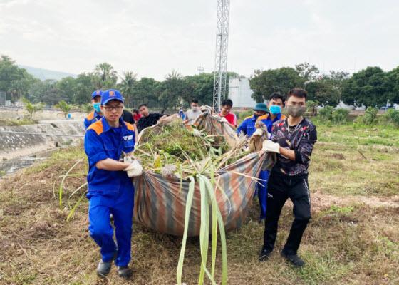 Tuổi trẻ Petrolimex Quảng Ninh hành động vì môi trường