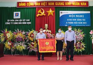 6T2021, Petrolimex Bình Định nộp Ngân sách 301 tỷ đồng, đạt 57% KH