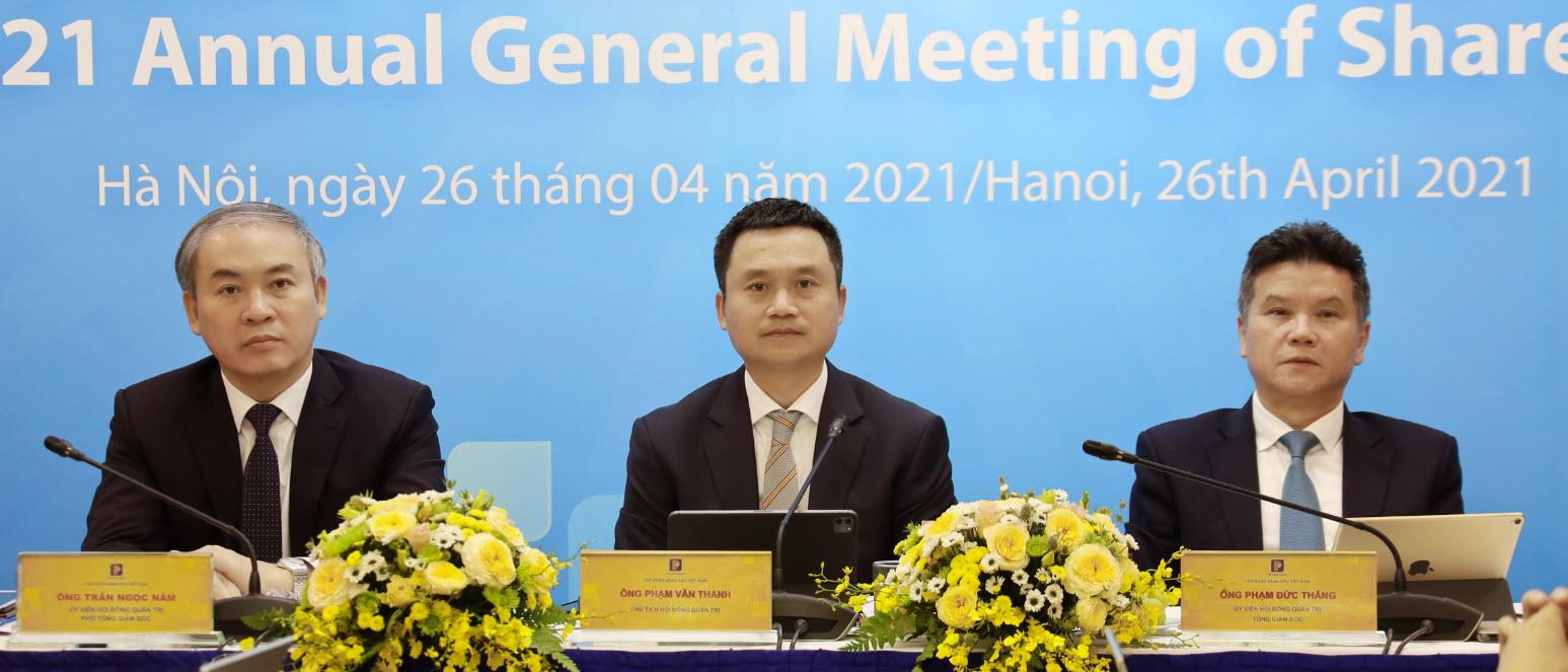 Tin ảnh: ĐHĐCĐ Petrolimex họp phiên thường niên 2021