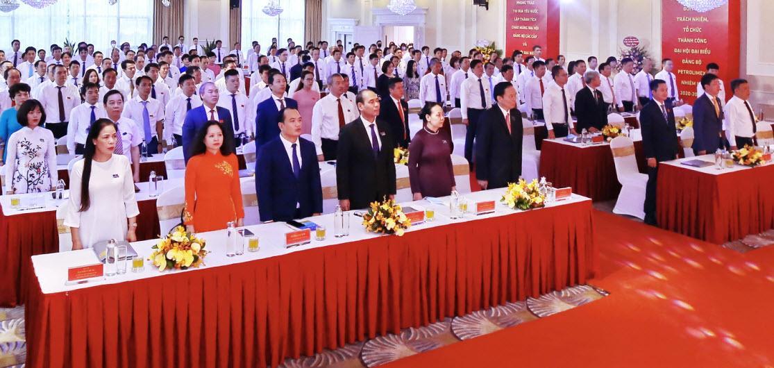 Petrolimex đóng góp vào thành công của Đại hội Đảng bộ Khối DNTW lần thứ III