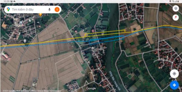 Số hóa bản đồ tuyến ống xăng dầu trên ứng dụng Google maps