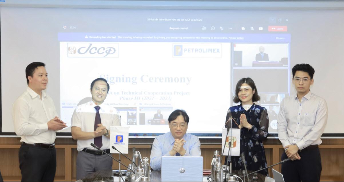 Petrolimex và JCCP ký thỏa thuận hợp tác kỹ thuật giai đoạn 3