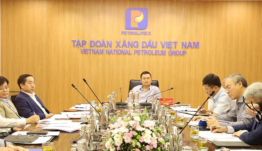 Hội nghị Ban Thường vụ Đảng ủy Tập đoàn tháng 3.2021