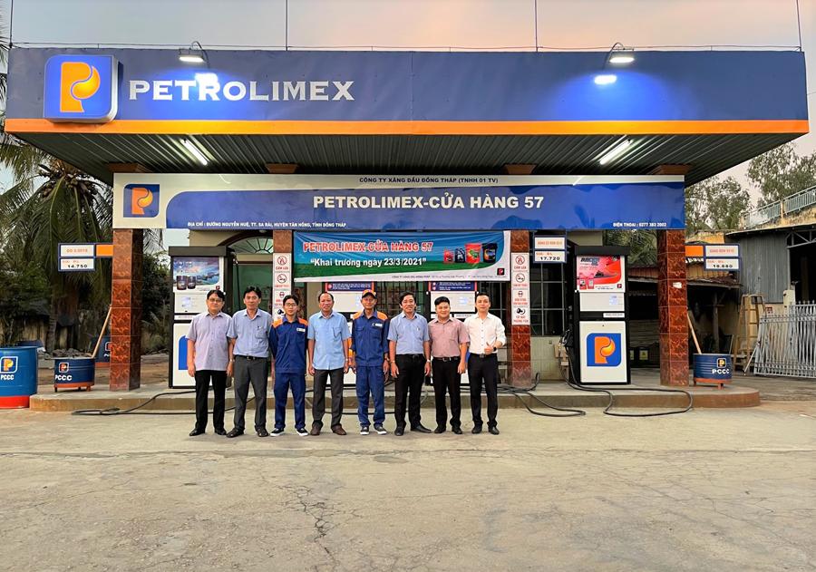 Petrolimex Đồng Tháp khai trương CHXD 57 tại thị trấn Sa Rài